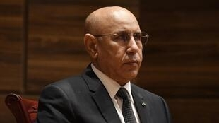File photo of Mauritania President Mohamed Ould Cheikh El Ghazouani.