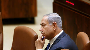 Benyamin Netanyahu at the Knesset