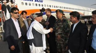 محمد اشرف غنی رییس جمهور افغانستان، وارد شهر هرات شد.