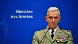 Le chef d'état-major des armées, le général François Lecointre, lors d'une conférence à Paris, le 26 novembre 2019.