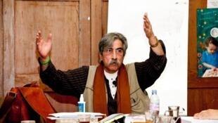 مصطفی شفافی معلم، شاعر ایرانی