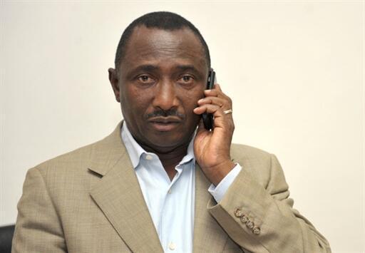 Sidya Touré, président du parti d'opposition guinéen UFR, l'Union des forces républicaines, le 29 juin 2010 à Conakry.