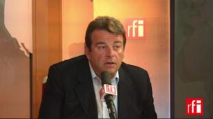 Thierry Solère, député Les Républicains.vice-président du Conseil général des Hauts-de-Seine.