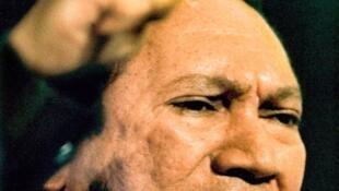 O ex-ditador do Panamá Manuel Noriega.