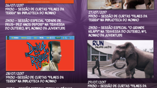 Cartaz de Festival de cinema da Cova da Moura