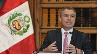 El ministro de Cultura de Perú, Salvador del Solar.
