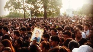 泰民痛悼國王   見證信仰的力量