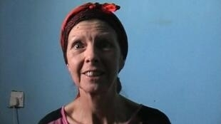 British hostage Judith Tebbutt speaks during an interview following her release from her kidnappers