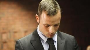 Oscar Pistorius au tribunal de Pretoria le 20 février 2013.