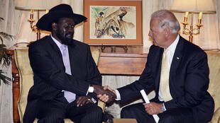 South sudan - Us - Salva Kiir - Biden