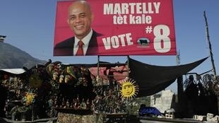 Martelly will face Manigat on 20 March