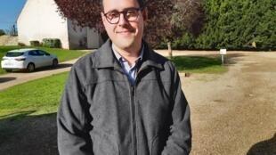 Hugo Lagny, responsable commercial Isagri pour les départements de l'Indre et du Loir-et-Cher.