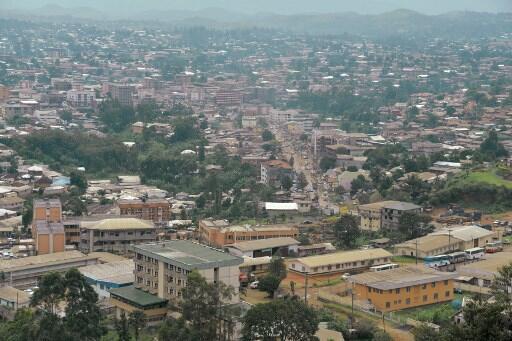 Bamenda, mji mkuu wa Jimbo la kaskazini magharibi mwa Cameroon.
