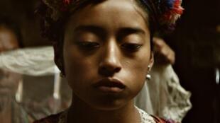 Maria Mercedes Coroy interprète le rôle de la jeune Maria dans le film «Ixcanul» de Jayro Bustamante.