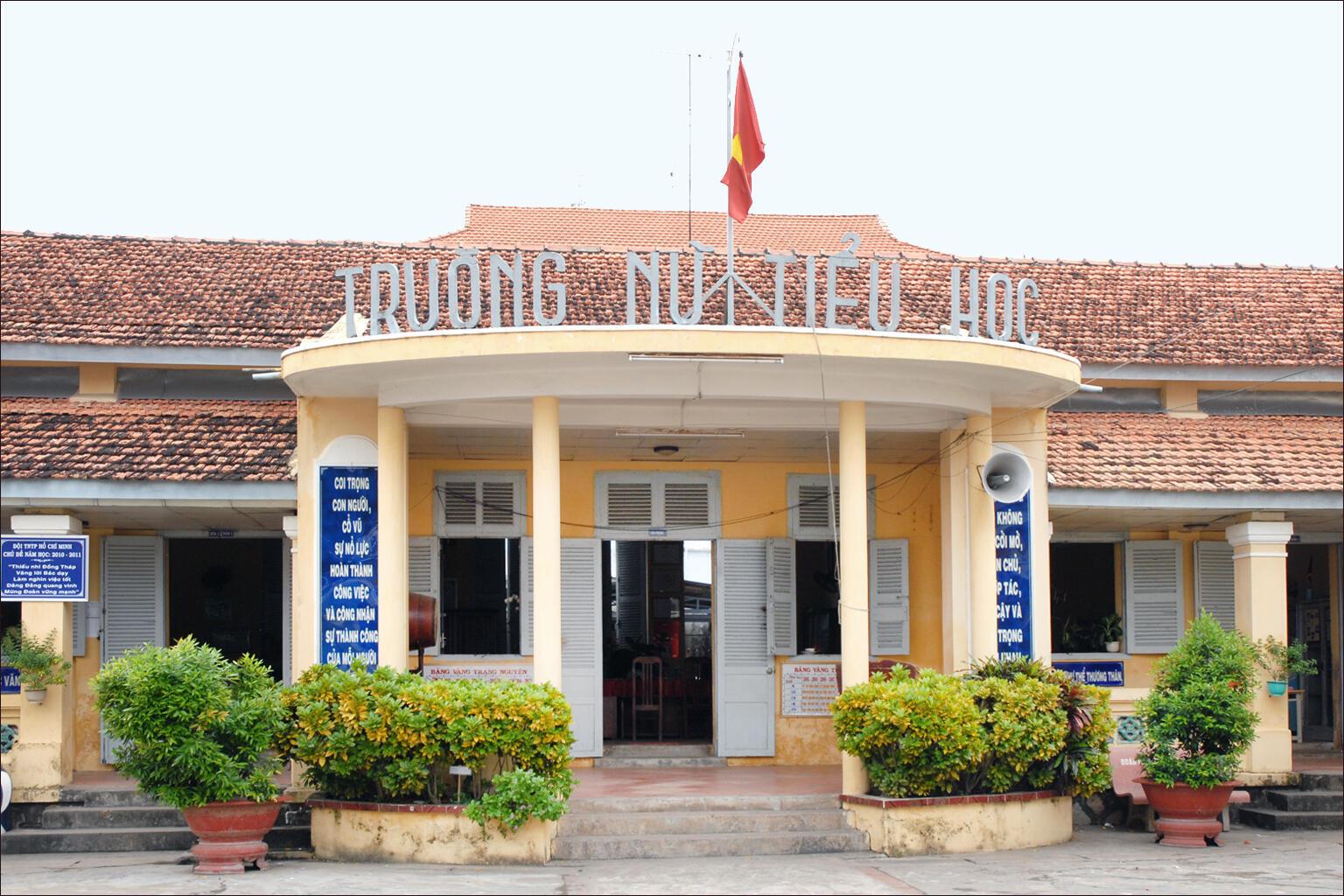 Trường song ngữ Pháp Trưng Vương, Sa Đéc, Việt Nam. Ảnh minh họa.