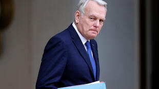 French Foreign Affairs Minister Jean-Marc Ayrault leaves the Elysee Palace in Paris, France.
