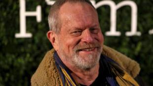 Đạo diễn Mỹ Terry Gilliam tại lễ trao Giải thưởng phim Anh Quốc báo Evening Standard, Luân Đôn, ngày 07/02/2016