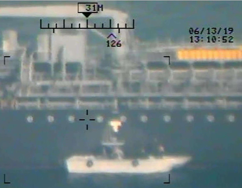 Ngày 17/06/2019, Washington công bố những tài liệu mới cáo buộc Iran đã tấn công hai tàu dầu trên biển Oman vào tuần trước