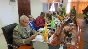 Le Comité de défense et de sécurité (chefs d'état-major) du G5 Sahel s'est réuni à Ndjamena les 2 et 3 mars 2016.