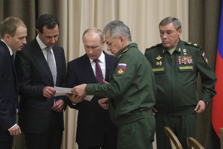 於索契召開的敘利亞問題會議圖