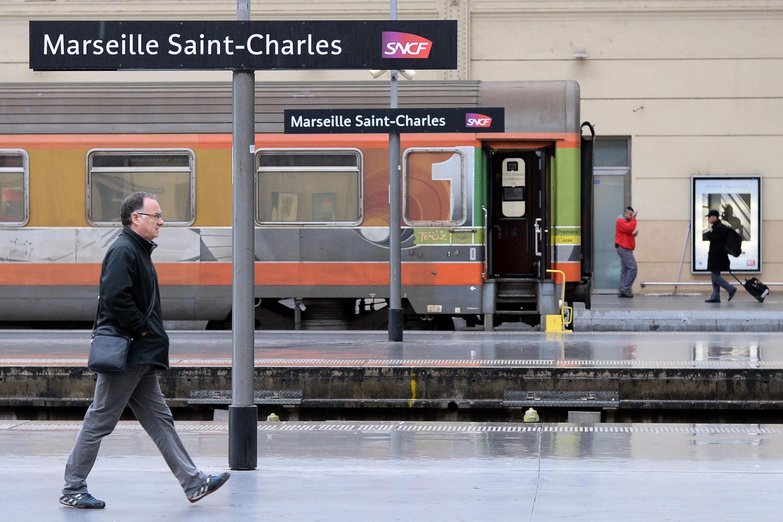 Marseille's Saint-Charles station