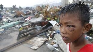 The Philippines city of Tacloban was hard hit by a super typhoon in 2013.