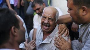 Палестинцы в секторе Газа, 21 августа 2014 год