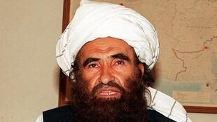 Jalaluddin Haqqani à Islamabad le 19 octobre 2001.