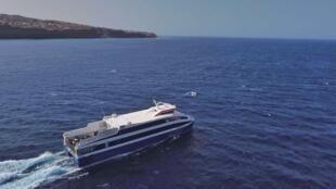 Barco da frota da CV Interilhas.