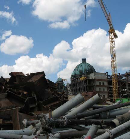«Palast der Republik, démontage sélectif», 2006-2009.