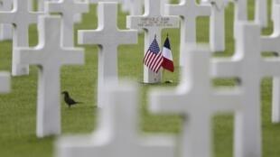 La plus grande cérémonie binationale se tiendra au cimetière américain de Colleville-sur-Mer, ce vendredi 6 juin 2014.