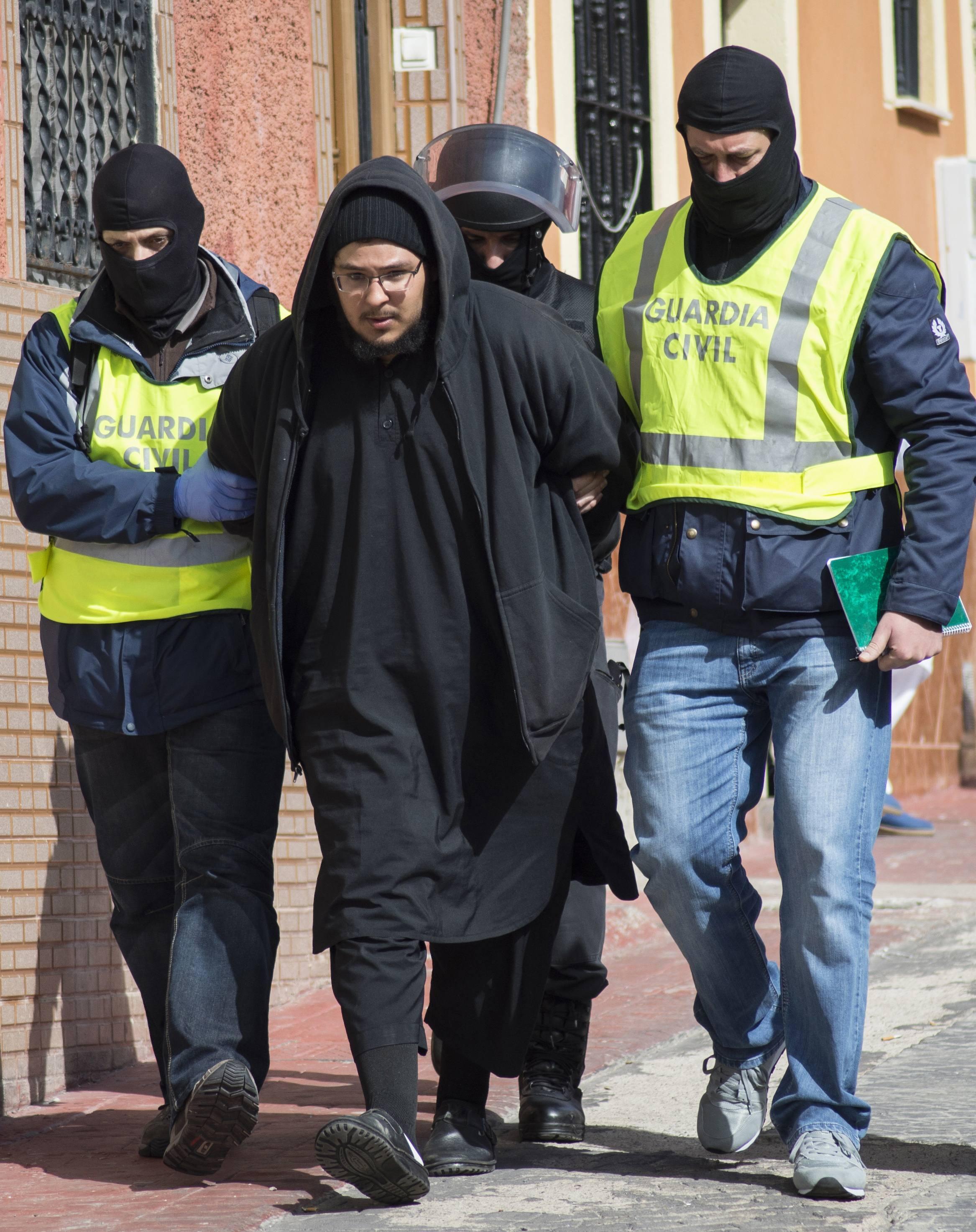 Tây Ban Nha phá vỡ mạng lưới tuyển mộ phụ nữ tham gia thánh chiến. Ảnh ngày 24/02/2015.