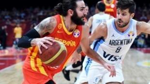 El español Ricky Rubio elegido el mejor jugador del Mundial de Baloncesto después de la victoria contra Argentina.
