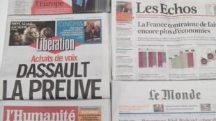 Imprensa francesa do dia 26.2.2014