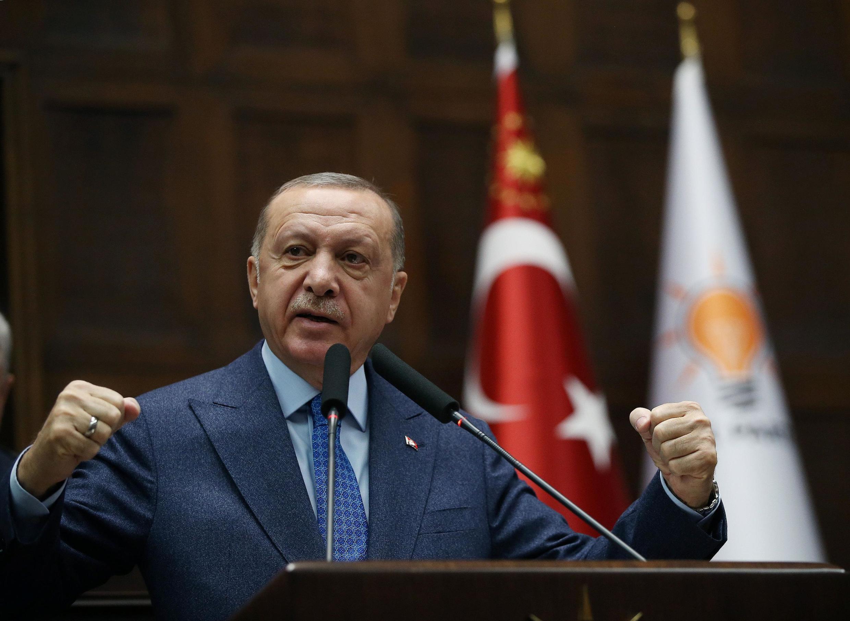 O presidente turco Recep Tayyip Erdogan criticou abertamente as autoridades gregas.