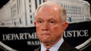 El Secretario de Justicia de Estados Unidos, Jeff Sessions.