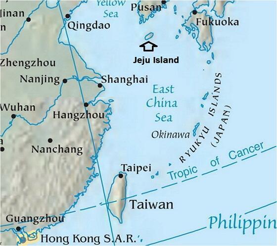 Máy bay quân sự Trung Quốc thâm nhập không phận Hàn Quốc trên bầu trời đảo Jeju.