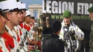 Des soldats de la légion étrangère.