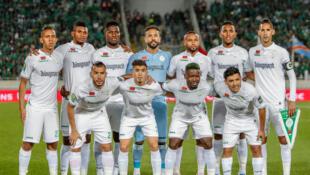 Les joueurs du Raja Casablanca en février.