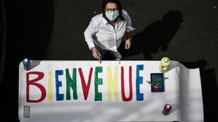 Reabertura das escolas em França