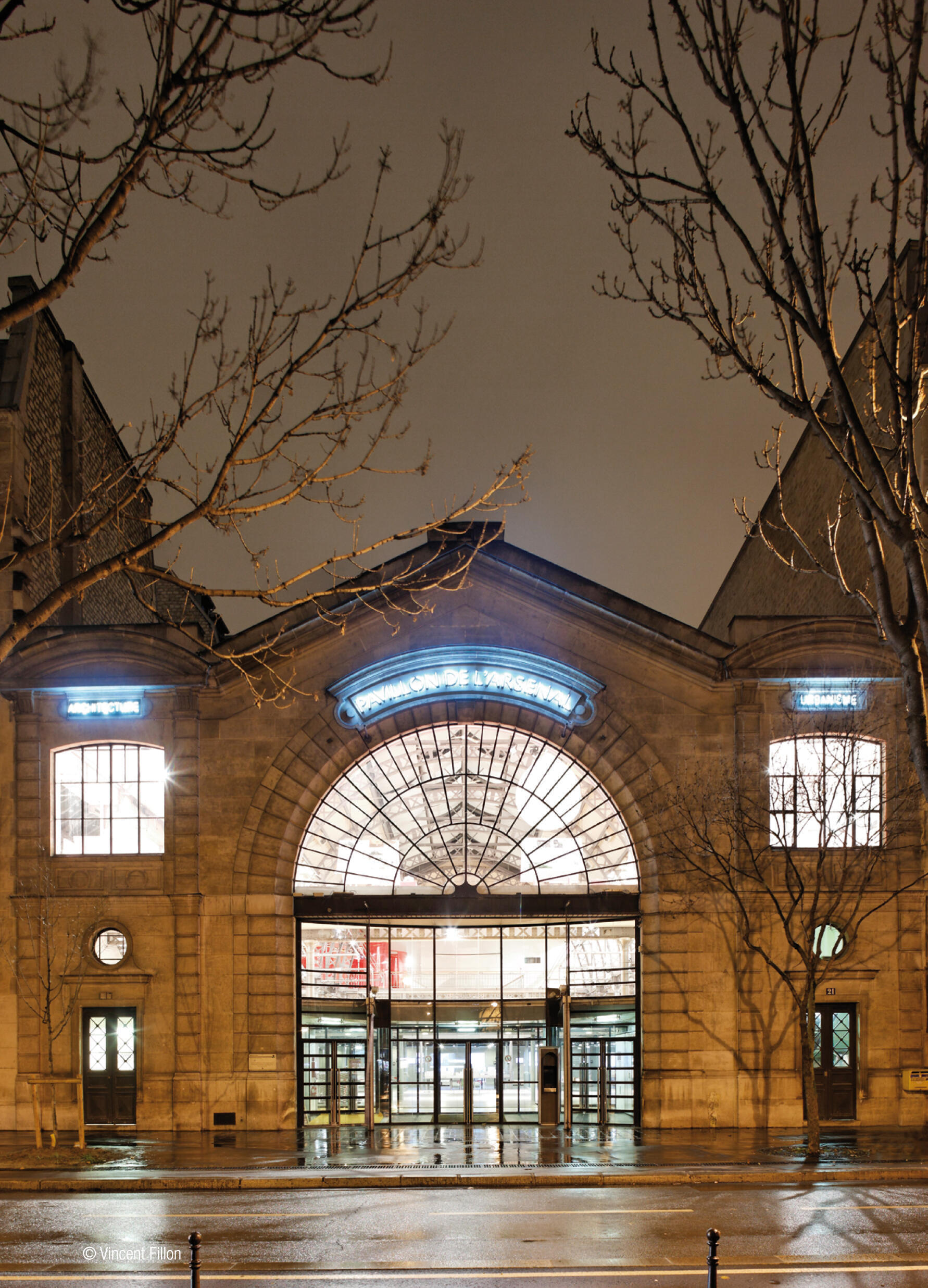 Le Pavillon de l'Arsenal, à Paris.