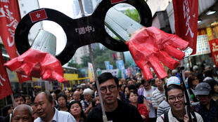 Người dân Hồng Kông biểu tình phản đối chính quyền sửa đổi luật cho phép dẫn độ sang Trung Quốc, ngày 31/03/2019