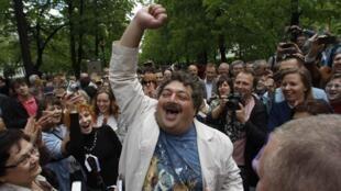 Писатель Дмитрий Быков, Москва 13.05.2012