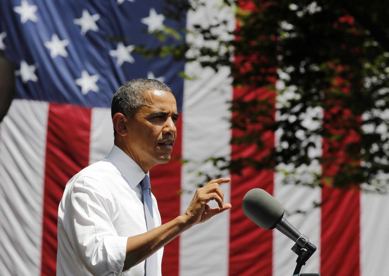 """Theo các chuyên gia,  """"hành động có giới hạn"""" mà ông Obama nhắc tới là một chiến dịch ngắn gọn và không có can thiệp trên bộ - REUTERS /L. Downing"""