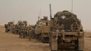 (Ảnh minh họa) - Lính Mỹ tại miền tây Irak, ngày 07/11/2017.