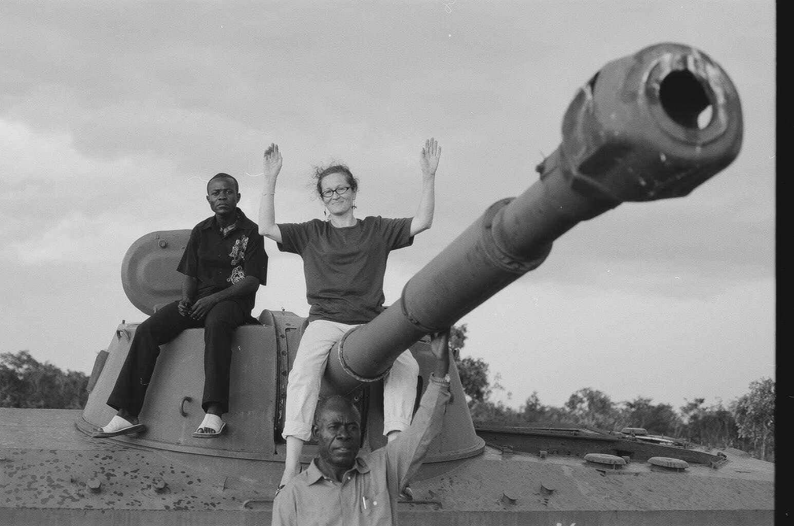 Виктория Ивлева. Ангола. 2005 г.