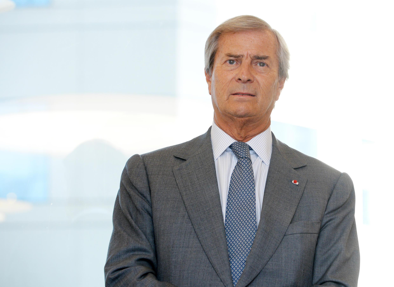 Le PDG du groupe Bolloré, Vincent Bolloré.