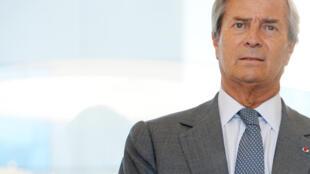 Jacques Dupuydauby est en conflit dans plusieurs pays avec le groupe de Vincent Bolloré (photo).