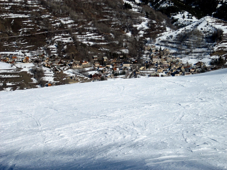 Serre Chevalier ski resort in the French Alps (for illustration purposes)