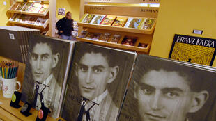 Книги Франца Кафки в пражском магазине